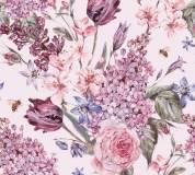 L-070 Фон акварельные цветы 300х270 Повторяющиеся принты и фоны