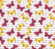 D-037 Бабочки принт 300х270 Принты - фоны