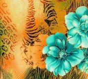 D-059 Дикий цветок 300х270 Принты - фоны
