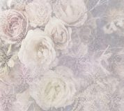 T-064 Винтажные цветы с вензелями 300х270 Принты-Фоны