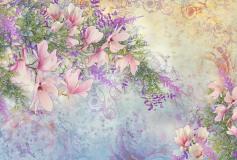 K-034 Цветы 400х270 Принты-Фоны