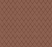 P-158 Орнамент - ромбы (коричневый) 300х270 Произвольная стыковка по ширине