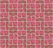 P-165 Орнамент - полосы (красный) 300х270 Произвольная стыковка по ширине