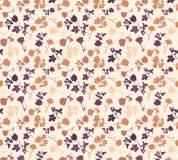 P-169 Маленькие розы (оранжевый) 300х270 Произвольная стыковка по ширине