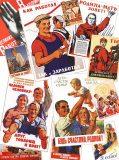 D-107 Советские плакаты 200х270 Ретро