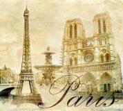 C-044 Париж винтаж 300х270 Винтаж