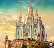 C-089 Церковь в Барселоне 300х270 Замки - Соборы - Церкви