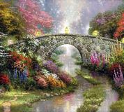 B-045 Волшебный мост живопись 300х270 Живопись