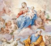 C-045 Пресвятая Дева Мария фреска 300х270 Живопись