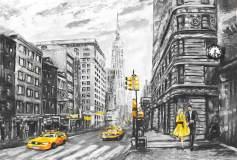 H-031 Нью-Йорк живопись 400х270 Живопись