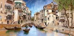 H-032 Канал Венеции живопись 300х147 Живопись