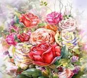 L-026 цветы живопись 300х270 Живопись