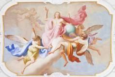 L-025 Ангелы фреска 400х270 Живопись