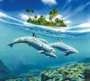 C-020 Дельфины 300х270 Животный мир