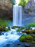 C-015 Водопад над речкой 200х270 Природа