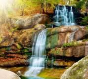 C-091 Водопад в парке 300х270 Природа