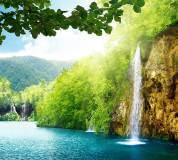 C-093 Высокий водопад 300х270 Природа
