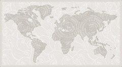 18294 Узорчатая карта (бежевая) для диз Baby World