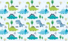 18361 Динозаврики для диз Baby World