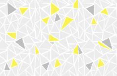 Фон с желтым акцентом образец 17707 Geometry