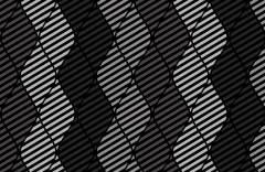 Геометрические волны образец 17690 Geometry