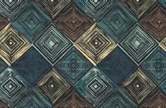 Темные ромбы образец 17679 Geometry