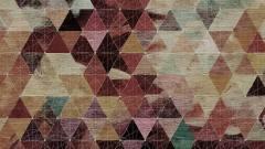 Треугольники на текстуре дерева 17948 Geometry