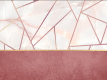 21029 Pink it marble