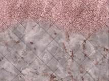 21037 Pink it marble