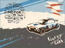 17422_vintage speed car TeenDream 2017