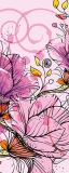 MRB-0024 Цветы рулонные шторы