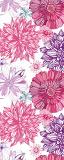 MRB-0201 Цветы рулонные шторы