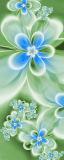 MRB-0231 Цветы рулонные шторы