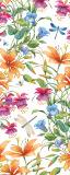 MRB-0232 Цветы рулонные шторы