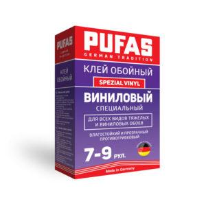 PUFAS клей обойный Виниловый Специальный Spezial Vinyl 7-9рул-225гр