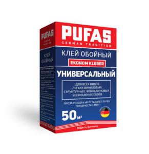 PUFAS клей обойный Универсальный Ekonom Kleber 50м2-325гр