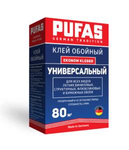 PUFAS клей обойный Универсальный Ekonom Kleber 80м2-525гр
