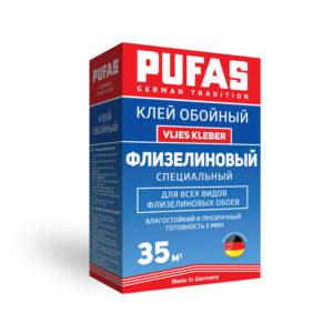 PUFAS клей обойный Флизелиновый Специальный Vlies Kleber 35м2-225гр