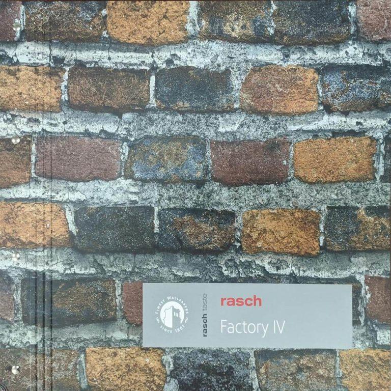 Обложка Factory IV Rasch